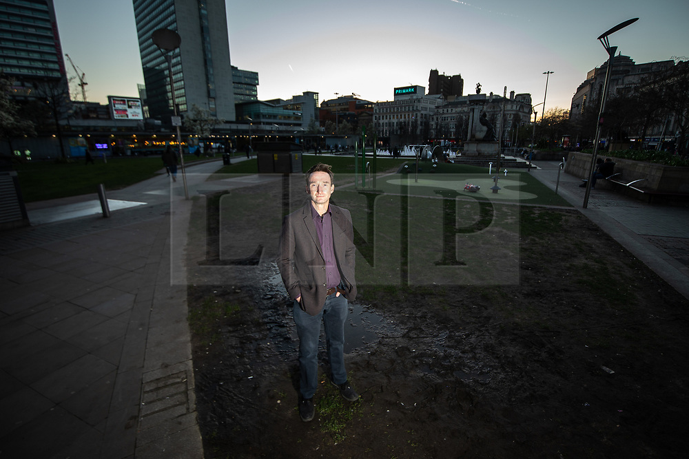 © **STRICTLY NO USE ON TELEGRAPH ONLINE, APP OR ANY WEB PLATFORMS**<br /> © Licensed to London News Pictures.. 25/03/2019 . Manchester, UK. Manchester Liberal Democrat leader JOHN LEECH launches the party's 2019 campaign and manifesto , titled