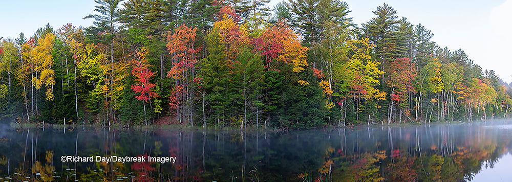 64776-01119 Council Lake in fall Alger Co. MI