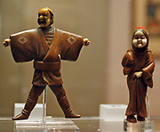 Netsuke (Japanese miniature sculptures invented in 17th-century Japan.