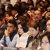 Toluca, México (Octubre 24, 2016).- Eduardo Valiente Hernández, Comisionado Estatal de Seguridad Ciudadana, inauguro el  Foro sobre conductas antisociales en la Escuela Judicial.  Agencia MVT / José Hernández