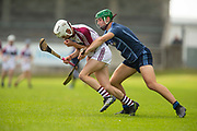 16/06/2018, Celtic Challenge Division 1 Quarter Final at Parnell Park, Dublin.<br /> Dublin Plunkett vs Galway McDonagh<br /> Karl Morgan (Dublin Plunkett) & Oisin Salmon (Galway McDonagh)<br /> David Mullen / www.cyberimages.net<br /> ISO: 320; Shutter: 1/1250; Aperture: 4; <br /> File Size: 2.2MB