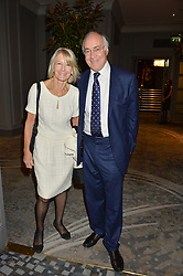 MICHAEL & SANDRA HOWARD at a party to celebrate the publication of Thenford: The Creation of an English Garden by Michael & Anne Heseltine held at The Grosvenor House Hotel, Park Lane, London on 24th October 2016.