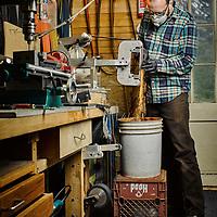 Cape Cod Custom knife maker Sam Densmore
