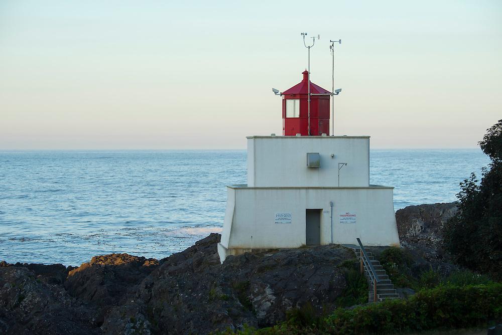 Canada, British Columbia Vancouver Island, Ucluelet, West Coast, Lighthouse