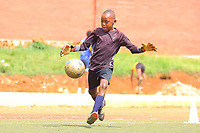 "U.K. soccer club Arsenal and the Rwandan Development Board announced a sponsorship deal in late May 2018 which will see ""Visit Rwanda"" printed on the sleeves of the Arsenal kit for the next 3 seasons at a cost to the Rwanda Development board of £10million per season. It is  intended to promote tourism to Rwanda. Here young Rwanda boys play football in Kigali"