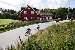 The early break during Ladies Tour of Norway 2019 - Stage 2, a 131 km road race from Mysen to Askim, Norway on August 23, 2019. Photo by Sean Robinson/velofocus.com