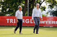 Luis CAMPOS / VADIM VASILYEV  - 29.06.2015 - Reprise Entrainement de Monaco  - 2015/2016<br />Photo : Jc Magnenet / Icon Sport
