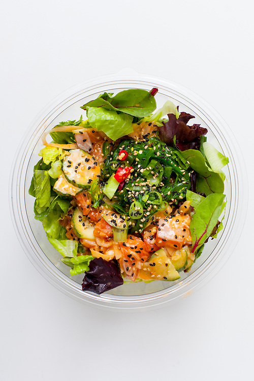 Spicy Salmon Bowl from Poke Works ($3.46) - MealPal Promo (50% off)