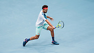 Jo-Wilfred Tsonga during the final of the Erste Bank Open at Wiener Stadthalle, Vienna, Austria.<br /> Picture by EXPA Pictures/Focus Images Ltd 07814482222<br /> 30/10/2016<br /> *** UK &amp; IRELAND ONLY ***<br /> EXPA-PUC-161030-0273.jpg