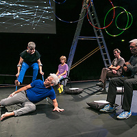 The Way you Look (at me) Tonight ;<br /> CUNNINGHAM AND CURTIS ;<br /> Claire Cunningham (Dancer) ;<br /> Jess Curtis (Choreographer) ;<br /> Royal Festival Hall, Southbank ;<br /> 7 September 2016 ;<br /> Credit : Pete Jones / ArenaPal ;<br /> www.arenapal.com
