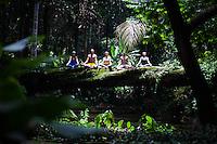 Ana Colangelo, Ursula Jahara, Edy Angely, Agustin Aguerreberry &  Adem Rinder at Jardin Botanico, Rio do Janeiro