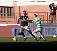 26th December 2017, Dens Park, Dundee, Scotland; Scottish Premier League football, Dundee versus Celtic; Dundee's Jon Aurtenetxe goes past Celtic's Scott Brown