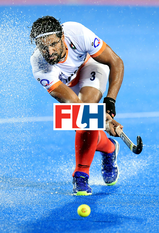 Odisha Men's Hockey World League Final Bhubaneswar 2017<br /> Match id:19<br /> India v Argentina<br /> Foto: Rupinder Pal Singh (Ind) <br /> COPYRIGHT WORLDSPORTPICS FRANK UIJLENBROEK