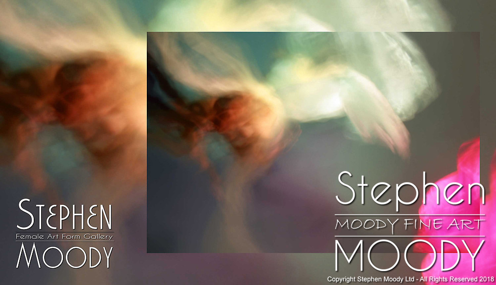 Fairy Dust - Abstract Art of the Female Form created by artist Stephen Moody of Scottsdale, AZ.  Large wall art for businesses, hospitality industry, interior designers and individual collectors.