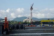 Cinta Costera 3 es la tercera etapa de un proyecto multimillonario en la ciudad de Panama el cual bordeara el Casco Antiguo para conducir a la avenidad de los Poetas. Panama, 27 de febreo de 2013. (Victoria Murillo/Istmophoto)