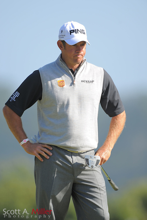 Lee Westwood during the second round of the 112th U.S. Open at The Olympic Club on June 15, 2012 in San Fransisco. ..©2012 Scott A. Miller