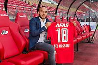 ALKMAAR - AFAS Stadion, 31-08-2016, AZ contracteert Bel Hassani.