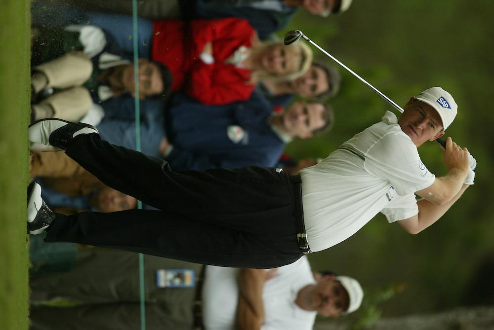 Ernie Els.2003 Tour Championship.Third Round.Champions Golf Club.Houston, TX.November 8, 2003..photograph by Darren Carroll