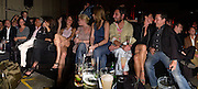 Stella McCartney and Giancarlo Giacometti , Anouk Lepere, flora evans and Lee Starkey. Mary McCartney and Jools Holland.  Established and Sons UK Launch during Design Week. The Bus Depot, Hertford Road. Hoxton. 22 September 2005.  ONE TIME USE ONLY - DO NOT ARCHIVE © Copyright Photograph by Dafydd Jones 66 Stockwell Park Rd. London SW9 0DA Tel 020 7733 0108 www.dafjones.com