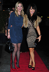 © Licensed to London News Pictures. 18/01/2012. London, England Lisa Faulkner and Katie Piper attends the Daily Mail Inspirational Women awards 2012 at the Marriot Grosvenor Hotel London  Photo credit : ALAN ROXBOROUGH/LNP