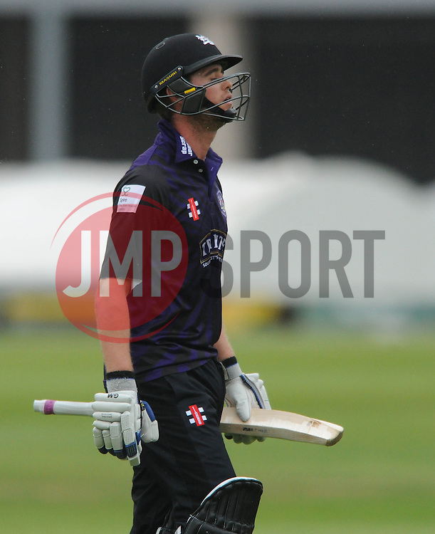 Ian Cockbain (capt) of Gloucestershire - Photo mandatory by-line: Dougie Allward/JMP - Mobile: 07966 386802 - 12/06/2015 - SPORT - Cricket - Bristol - County Ground - Gloucestershire v Glamorgan - Natwest T20 Blast