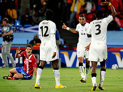 Kevin Prince Boateng (Ghana) in action during the 2010 FIFA World Cup South Africa Group D match between Serbia and Ghana at Loftus Versfeld Stadium on June 13, 2010 in Pretoria, South Africa.