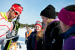 Guide: CARLETON Erik, CAN, Long Distance Cross Country, 2015 IPC Nordic and Biathlon World Cup Finals, Surnadal, Norway