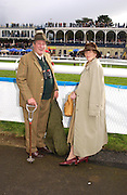 Christopher Thompson and Lucy Shakerley. Ludlow Charity Race Day,  in aid of Action Medical Research. Ludlow racecourse. 24 march 2005. ONE TIME USE ONLY - DO NOT ARCHIVE  © Copyright Photograph by Dafydd Jones 66 Stockwell Park Rd. London SW9 0DA Tel 020 7733 0108 www.dafjones.com