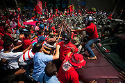 Red shirts UDD riots in Bangkok, Thailand