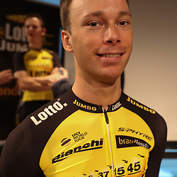 22-12-2016: Wielrennen: Presentatie Lotto Jumbo: Rijswijk  <br /> Steven Lammertink