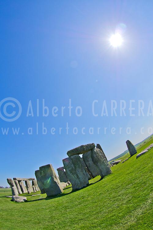 Alberto Carrera, Neolithic Ruins Stonehenge, UNESCO World Heritage Site, Salisbury, Wiltshire, England, Great Britain, Europe