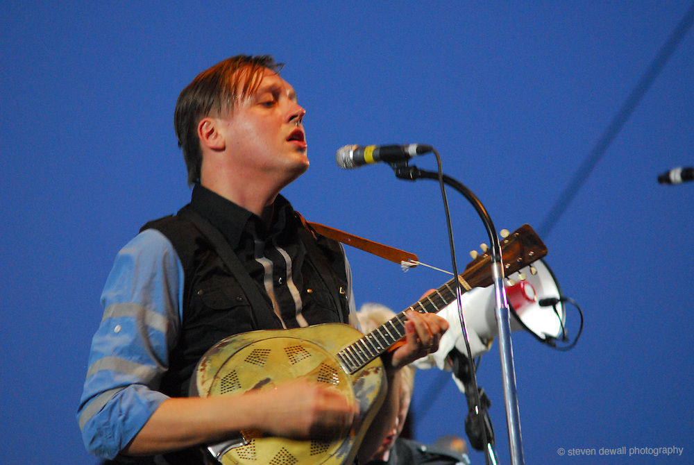 Arcade Fire performs at Coachella Music Festival in Indio, CA.