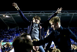 Reading fans invade the pitch at full time after their side's win over Fulham in the Championship Playoff Final - Mandatory by-line: Robbie Stephenson/JMP - 16/05/2017 - FOOTBALL - Madejski Stadium - Reading, England - Reading v Fulham - Sky Bet Championship Play-off Semi-Final 2nd Leg