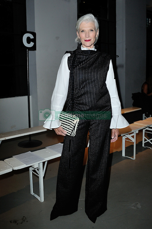 Maye Musk attending the Guy Laroche show as a part of Paris Fashion Week Ready to Wear Spring/Summer 2017 in Paris, France on September 28, 2016. Photo by Aurore Marechal/ABACAPRESS.COM