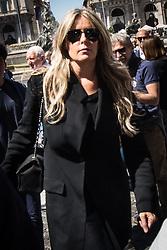 May 27, 2017 - Rome, Italy, Italy - Funeral of the stylist Laura Biagiotti in the church of Basilica Santa Maria in Rome. (Credit Image: © Andtea Ronchini/Pacific Press via ZUMA Wire)