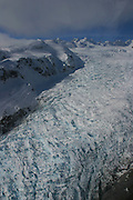 Fox Glacier, Southern Alps, West Coast, South Island, New Zealand