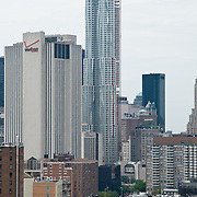 Frank Gehry's new Beekman Tower building in New York City.