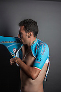 Vincenzo Nibali,  road bicycle racer, considered one of the strongest stage race riders in the world today. fitting some of his winner t-shirts