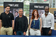 "Cast Serie ""Profilage"" at Festival Film of Monaco"