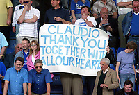 Photo. Andrew Unwin, Digitalsport<br /> NORWAY ONLY<br /> <br /> Chelsea v Leeds United. FA Barclaycard Premiership. 15/05/2004.<br /> Chelsea fans show their respect for manager Claudio Ranieri