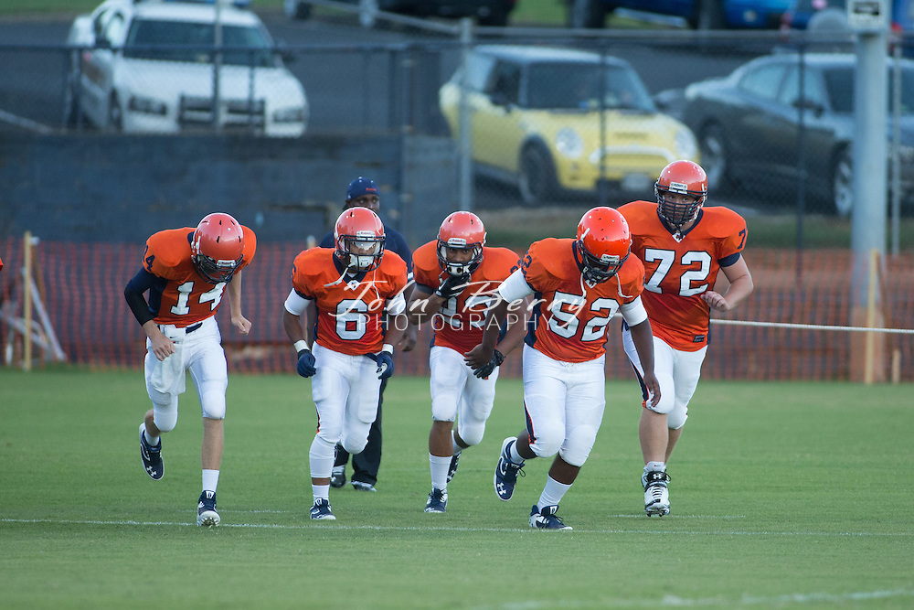 September/6/13:   Liberty at Orange Varsity Football.