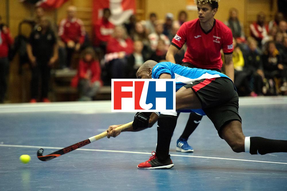 BERLIN - Indoor Hockey World Cup<br /> Trinidad &amp; Tobago - Australia<br /> foto: Akim Toussaint <br /> WORLDSPORTPICS COPYRIGHT FRANK UIJLENBROEK