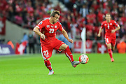 Switzerland's Xherdan Shaqiri  during the UEFA European 2016 Qualifying match between England and Switzerland at Wembley Stadium, London, England on 8 September 2015. Photo by Shane Healey.