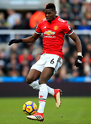 Paul Pogba of Manchester United - Mandatory by-line: Matt McNulty/JMP - 11/02/2018 - FOOTBALL - St James Park - Newcastle upon Tyne, England - Newcastle United v Manchester United - Premier League
