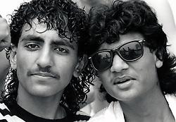 Teenagers Nottingham UK 1989