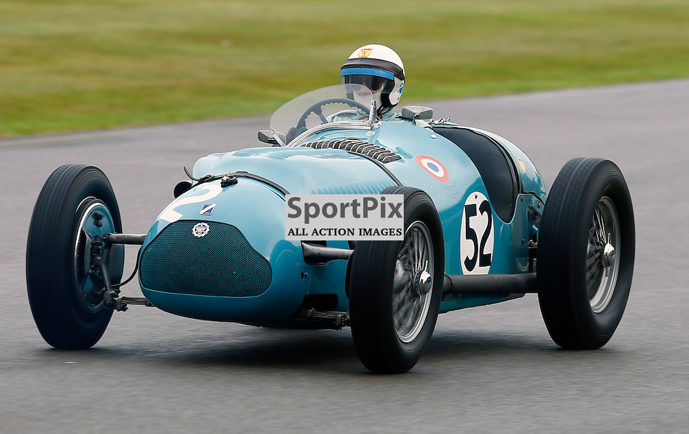 GOODWOOD REVIVAL....Richard Pilkington during qualifying for the weekend races...(c) STEPHEN LAWSON | SportPix.org.uk