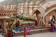 Jaipur Monkey Temple Galtaji Ramgopalji, India