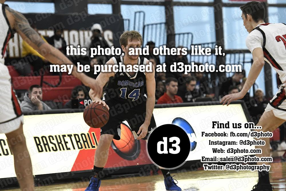 Men's Basketball: Illinois Tech vs. Dominican University (Illinois) Stars at Keating Sports Center in Chicago, IL. Illinois Tech 81 Dominican University 61. Dean Reid/D3Photography