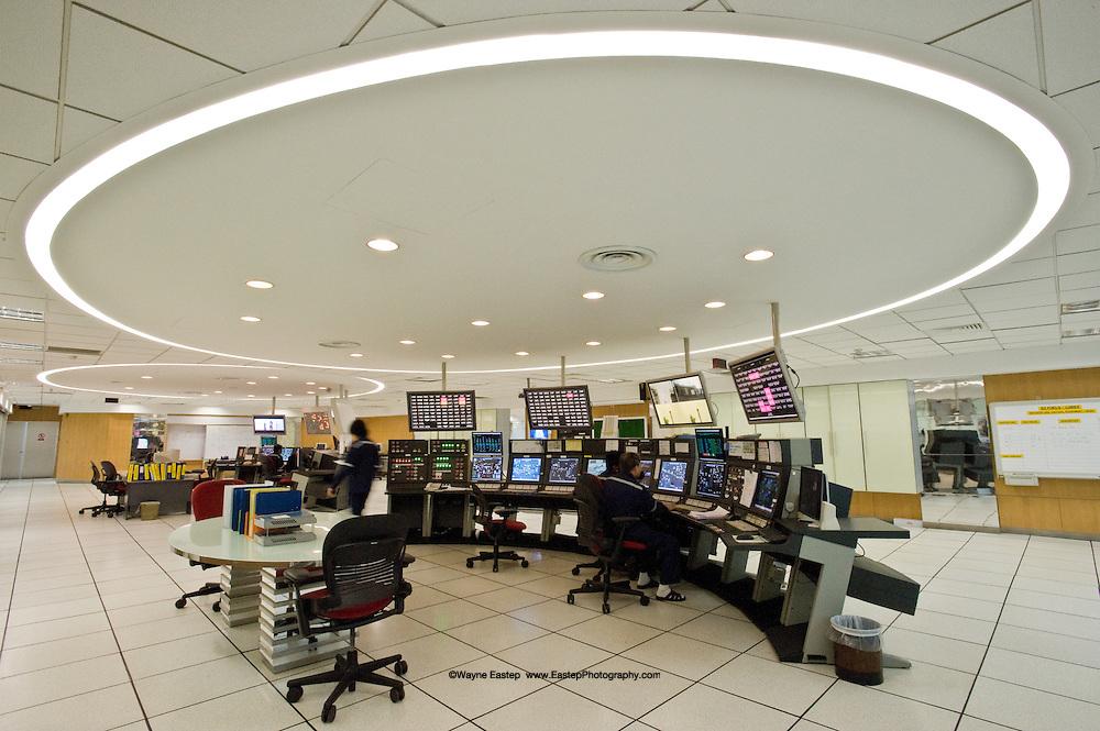 Pualu Ayer Chawan Refinery Control Room, Jurong Island, Singapore.