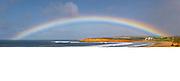 rainbow over Torquay Surf Beach